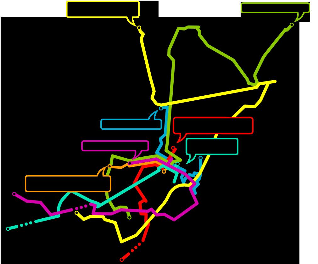 Carte - chosir les routes