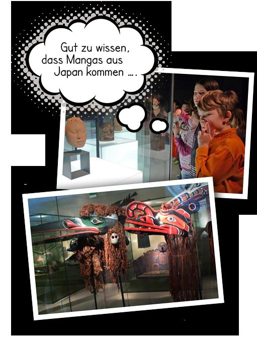 Bildercollage Ethnologisches Museum