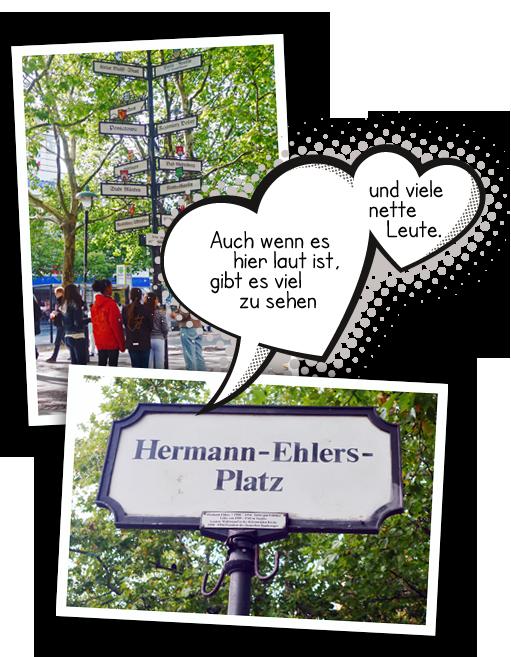 Bildercollage Hermann-Ehlers-Platz