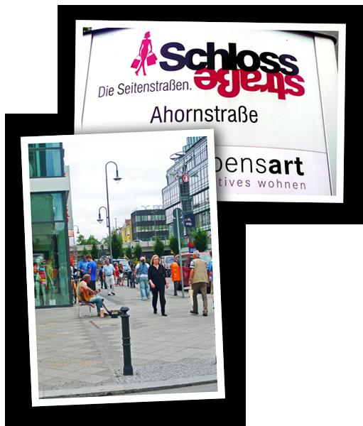 Bildercollage Schlossstraße Steglitz