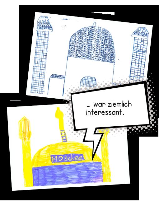 Bildercollage Wilmersdorfer Moschee