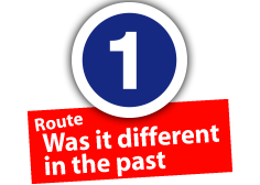 "Route ""Was it different in the past"", No. 1"