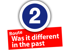 "Route ""Was it different in the past"", No. 2"