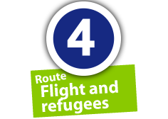 "Route ""Flight and refugees"", No. 4"