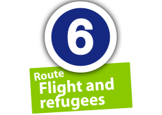 "Route ""Flight and refugees"", No. 6"