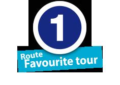 """Route """"Favourite tour"""", No. 1"""