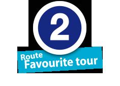 """Route """"Favourite tour"""", No. 2"""