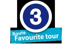 """Route """"Favourite tour"""", No. 3"""