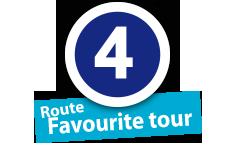 """Route """"Favourite tour"""", No. 4"""