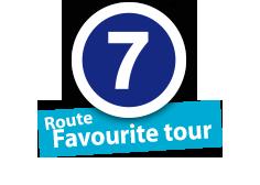 """Route """"Favourite tour"""", No. 6"""