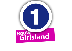 """Route """"Girlsland"""", No. 1"""