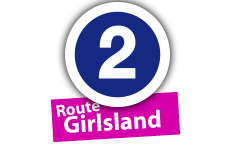 """Route """"Girlsland"""", No. 2"""