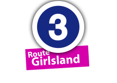 """Route """"Girlsland"""", No. 3"""