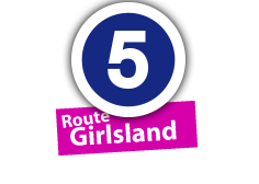 """Route """"Girlsland"""", No. 5"""