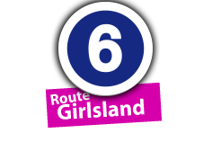 """Route """"Girlsland"""", No. 6"""