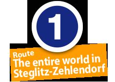 "Route ""The entire world in Steglitz-Zehlendorf"", No. 1"