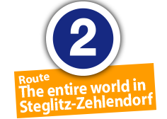"Route ""The entire world in Steglitz-Zehlendorf"", No. 2"