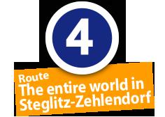 "Route ""The entire world in Steglitz-Zehlendorf"", No. 4"