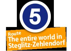 "Route ""The entire world in Steglitz-Zehlendorf"", No. 5"