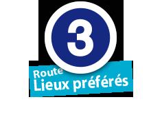 """Route """"Lieux préférés"""", No. 3"""