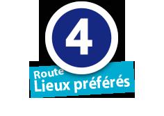 """Route """"Lieux préférés"""", No. 4"""