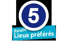 """Route """"Lieux préférés"""", No. 5"""