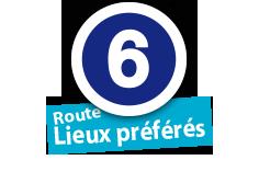 """Route """"Lieux préférés"""", No. 6"""
