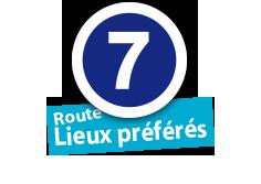 """Route """"Lieux préférés"""", No. 7"""