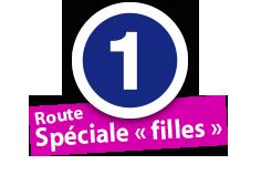 """Route Spéciale """"filles"""", No. 1"""