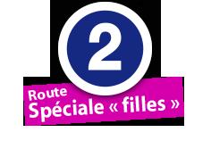 """Route Spéciale """"filles"""", No. 2"""