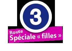 """Route Spéciale """"filles"""", No. 3"""