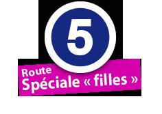 """Route Spéciale """"filles"""", No. 5"""