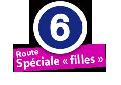 """Route Spéciale """"filles"""", No. 6"""