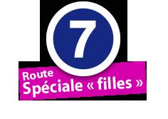 """Route Spéciale """"filles"""", No. 7"""