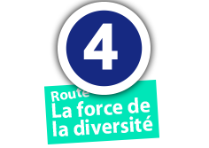 "Route ""La force de la diversité"", No. 4"