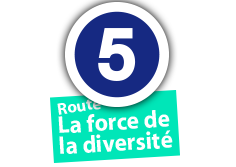 "Route ""La force de la diversité"", No. 5"
