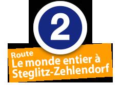 """Route """"Le monde entier à Steglitz-Zehlendorf"""", No. 2"""