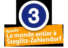 """Route """"Le monde entier à Steglitz-Zehlendorf"""", No. 3"""