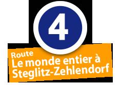 """Route """"Le monde entier à Steglitz-Zehlendorf"""", No. 4"""