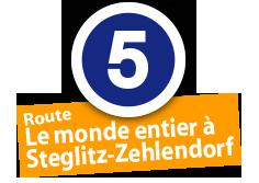 """Route """"Le monde entier à Steglitz-Zehlendorf"""", No. 5"""