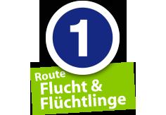 """Route """"Flucht und Flüchtlinge"""", Ort Nr. 1"""