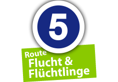 """Route """"Flucht und Flüchtlinge"""", Ort Nr. 5"""