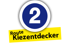 """Route """"Kiezentdecker"""", Ort Nr. 2"""
