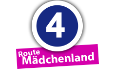 """Route """"Mädchenland"""", Ort Nr. 4"""