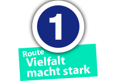 "Route ""Vielfalt macht stark"", Ort Nr. 1"