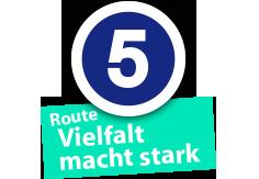"Route ""Vielfalt macht stark"", Ort Nr. 5"
