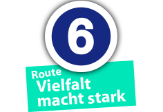 "Route ""Vielfalt macht stark"", Ort Nr. 6"