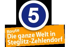 """Route """"Die ganze Welt in Steglitz"""", Ort Nr. 5"""